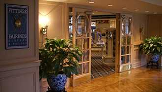 Fittings and Fairings Clothes and Notions at Disney's Yacht Club closed for lengthy refurbishment