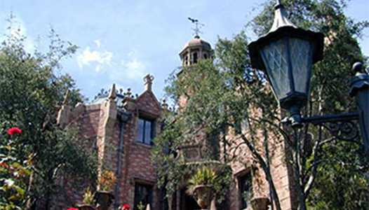 Haunted Mansion refurbishment