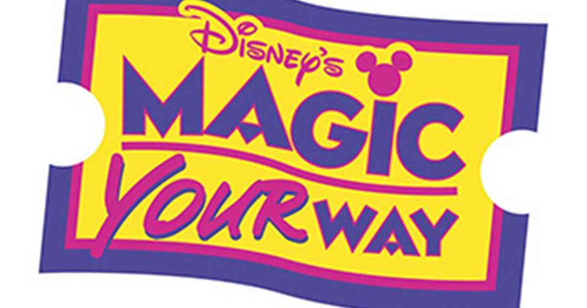 Ticket Magic Your Way Ticket