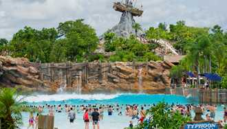 Typhoon Lagoon closed Wednesday due to weather